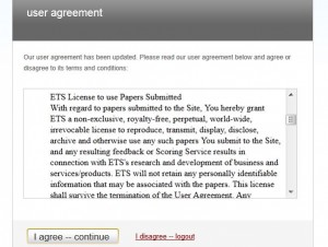 Turnitin.com EULA